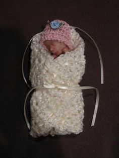 Miscarriage Blankets & More via Facebook Baby Cardigan Knitting Pattern Free, Crochet Baby Hat Patterns, Crochet Baby Hats, Baby Patterns, Baby Knitting, Crochet Ideas, Crochet Projects, Preemie Crochet, Blessing Bags