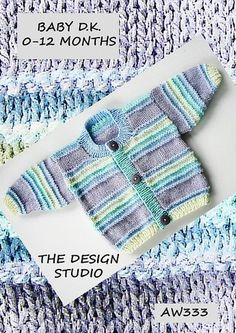 Ravelry: Project Gallery for BABY CARDIGAN RAINBOW pattern by Audrey Wilson