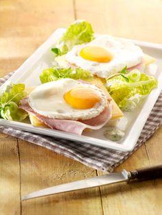 Uitsmijter met Meesterlyck-ham en oude kaas, kropsla en peterseliemayonaise