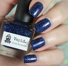 Vapid Lacquer Bruised - coming from Michelle Morse / Swap for Drunk Yoga