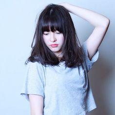 黒髪ロングに憧れるミディアム女子へ。透明感ヘアカタログ♩|MERY [メリー]