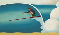 almasurf.com TYLER WARREN é artista dentro e fora d'água; especialista em longboard