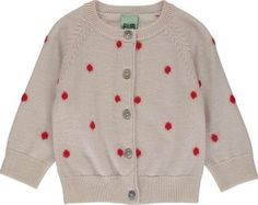 FUB Polka Dot Wool Cardigan Ecru `6 months,9 Fabrics : Wool knit Details : Dots print, Straight cut, Round neckline, Long sleeves, Pearly buttons, Ribbing Composition : 100% Wool http://www.comparestoreprices.co.uk/january-2017-7/fub-polka-dot-wool-cardigan-ecru-6-months-9.asp