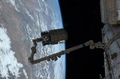 "Cygnus ""Gordon Fullerton"" departed the ISS earlier today. Congratulations on the successful cargo supply mission."
