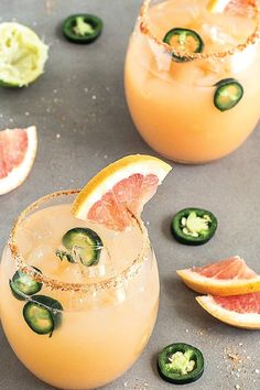 Salty, sweet, and oh-so refreshing, this Spicy Grapefruit Jalapeño Margarita recipe has your Cinco de Mayo party written all over it! But we don't blame you if you make this unique cocktail all summer long.