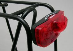 Busch & Muller Taillight permanent (doesn't blink) taillight (legal in all states)...mounts onto Tubus Cargo rear rack...$30 at www.thetouringstore.com