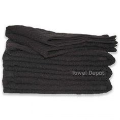 6 new black 16x27 salon hand towels hair towels hair cutting cleaning towels 2#