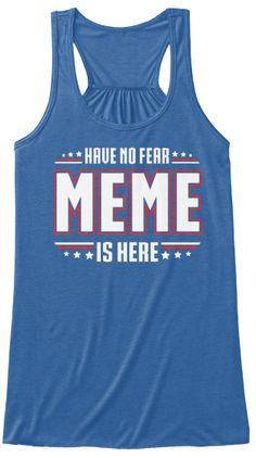 NO FEAR MEME ~ Tank Top