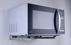 microwave wall mount shelves