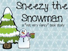 Sneezy the Snowman is a perfect book to use to teach fluency, sequencing, and retelling with key details in Retelling Activities, Winter Activities, Book Activities, Preschool Winter, Snow Theme, Winter Theme, Sneezy The Snowman, Kindergarten Classroom, Classroom Ideas