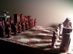 Narnia Chess Board by Guitarmike1300, via Flickr so epic!!!  It kinda makes me want to learn to play chess. :)