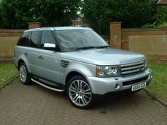 2007 Range Rover Sport 2.7 TDV6 HSE 5-door auto estate. 4x4. Silver with black leather interior. Complete Land Rover history.