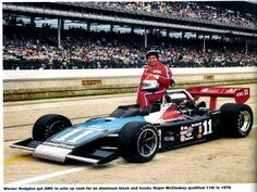 1978 AMC Powered Indy Car. Roger McCluskey qualified 11th in 1978