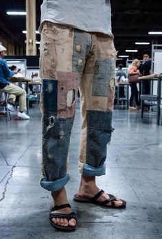 Patchwork Pants - ughhh I want them !!!