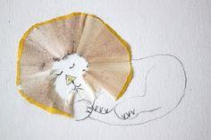 Pencil sharpening artwork - Hazel Terry