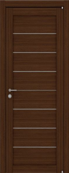 """Межкомнатная дверь """"2125"""", по, орех вельвет"""