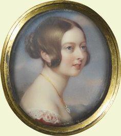 Queen Victoria, Henry Pierce Bone, 1840