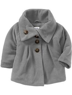 Button-Front Performance Fleece Coats for Baby | Old Navy