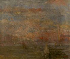 Na de storm - 1880  James Ensor