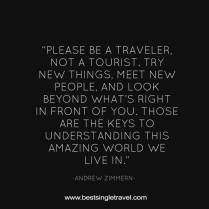 Please be a Traveler