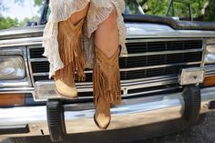 THE RAMBLER FRINGE BOOT - Junk GYpSy co.