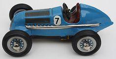 Schuco Toy Tinplate Clockwork Tin Wind-up Model Studio 1050 Racer Mercedes-Benz