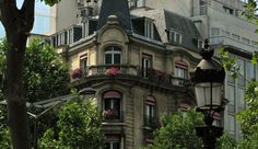 champs-elysees architecture