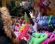 Milutkie i kolorowe przytulanki. DIY albo kup na Jarmarku Bożonarodzeniowym na gliwickim Rynku. #Gliwice #christmas #christmasmarket