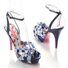 Betsey Johnson Florencia Heels-Awesome style
