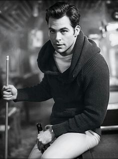 Chris Pine: Butch O'Neal, Dhestroyer, descended of Wrath, son of Wrath