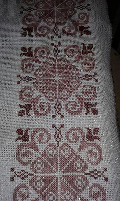 Hand Embroidery Design Patterns, Sewing Patterns, Needlepoint Stitches, Needlework, Cross Stitch Designs, Cross Stitch Patterns, Greek Pattern, Knitting Needles, Blackwork