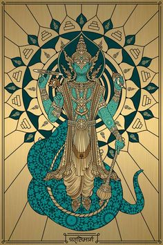 Lord Ganesha Paintings, Krishna Painting, Krishna Art, Lord Krishna, Indian Folk Art, Thai Art, Indian Art Paintings, Hindu Art, Indian Gods