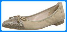 Caprice 22106, Damen Geschlossene Ballerinas, Beige (BEIGE SUEDE 404), 38 EU - Ballerinas für frauen (*Partner-Link) Partner, Flats, Best Deals, Link, Shoes, Fashion, Self, Women's, Moda
