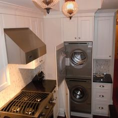 Washer And Dryer In Kitchen Home Design Ideas, Pictures, Remodel and Decor
