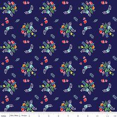 Floral Navy Blue - Jersey Knit http://www.elephantinmyhandbag.com/all.php#!/Floral-Navy-Blue-Jersey-Knit/p/51015710/category=2526021