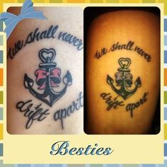 My best friend and I had matching tattoos done here, we love how they turned out! | Yelp