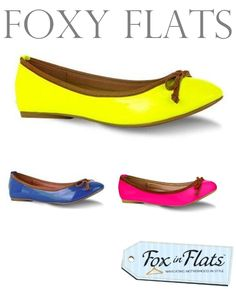 neon flats shoes 3 Foxy flats: Neon#Repin By:Pinterest++ for iPad#