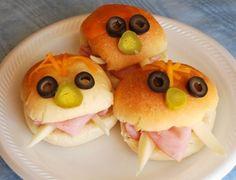 Creepy sandwiches