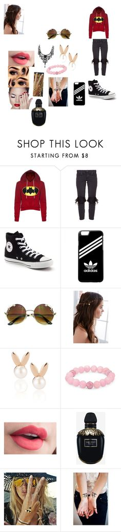 """""""Sophia's outfit for day in Glasgow, Scotland"""" by onedirectionforever1297 on Polyvore featuring One Teaspoon, Converse, adidas, REGALROSE, Aamaya by priyanka, Palm Beach Jewelry, Alexander McQueen and Flash Tattoos"""
