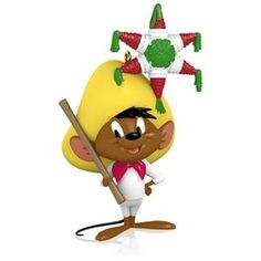 LOONEY TUNES The Merriest Mouse in All of Mexico Speedy Gonzales Ornament,