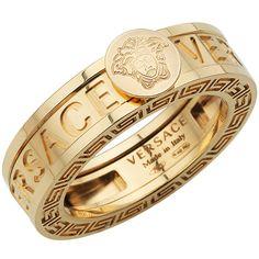 Medusa Gold Versace Ring