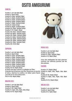 68 Amigurumi Patterns in Spanish : 68 Amigurumi Patterns in Spanish Crochet Doll Pattern, Crochet Patterns Amigurumi, Crochet Dolls, Crochet Stitches, Love Crochet, Diy Crochet, Crochet Crafts, Crochet Projects, How To Start Knitting