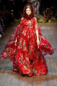 dolce and gabbana hooded dress fall 2014 - Google Search