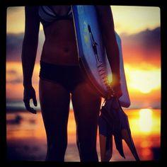 Sunset bodyboard sesh ...... This Summer I will do it !!! No matter what !!! Bodyboard surf :)