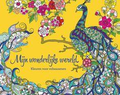 Coloring book for adults Mijn wonderlijke wereld by MasjasArtwork