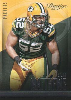 Set: 2014 Prestige Player: Matthews, Clay Sport: Football Team: Green Bay Packers Card Number: #143 Manufacturer: Panini Group Brand: Prestige