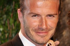 Soccer superstar DAVID BECKHAM was in Greece on Thursday (17May12) to pick up the Olympic flame.