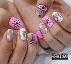 Edgy Nails, Cute Nails, Pretty Nails, Natural Nail Designs, Nail Polish Designs, Nail Art Designs, Trendy Nail Art, Nail Art Diy, Bella Nails
