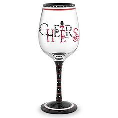 Image detail for -Hand Painted Wine Glass | Funky Wine Glasses