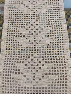 Free Doily Patterns, Crochet Edging Patterns, Crochet Table Runner Pattern, Fillet Crochet, Hardanger Embroidery, Passementerie, Table Runners, Crochet Projects, Crochet Top